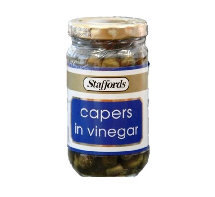 STAFFORDS CAPERS IN VINEGAR 130G