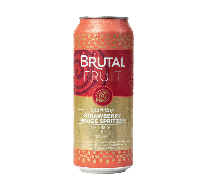Brutal Fruit Strawberry Rouge Spritzer (24 x 500 ml)