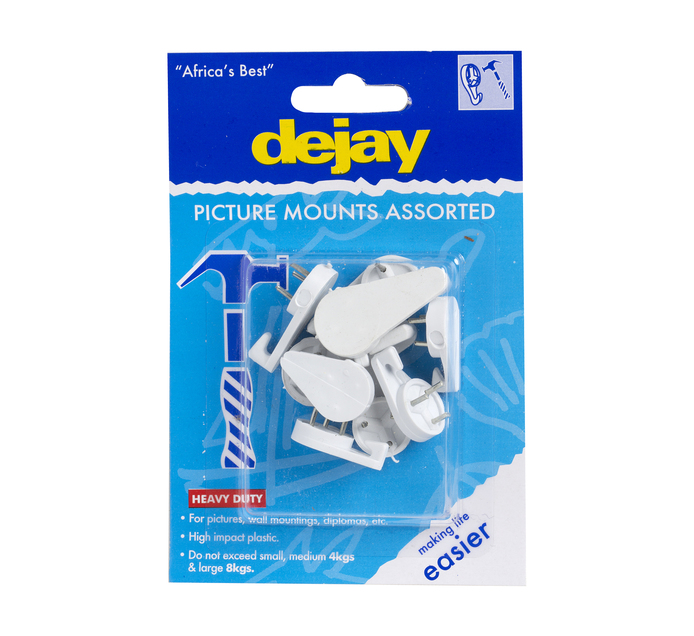 Dejay Picture Mounts Assorted