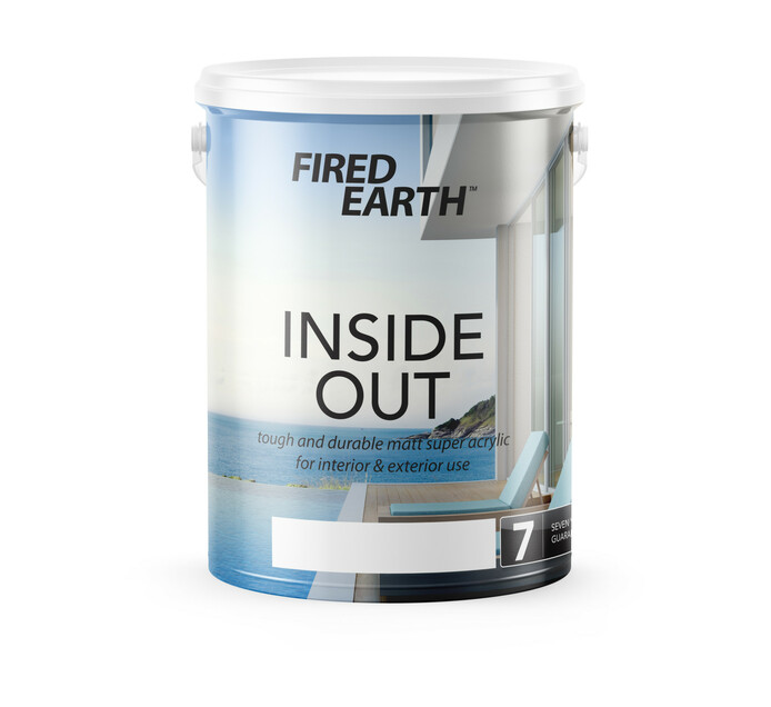 Fired Earth 5 l Inside Out Super Acrylic Upside Down