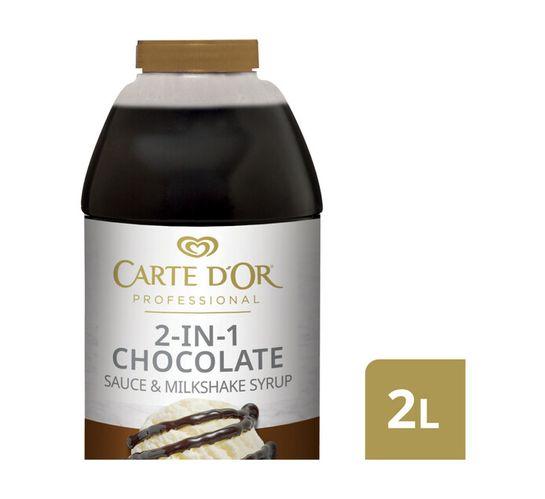 Carte D'or Sauce Chocolate (1 x 2L)