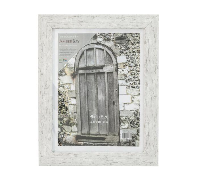 300 x 400 mm Frame White Wash