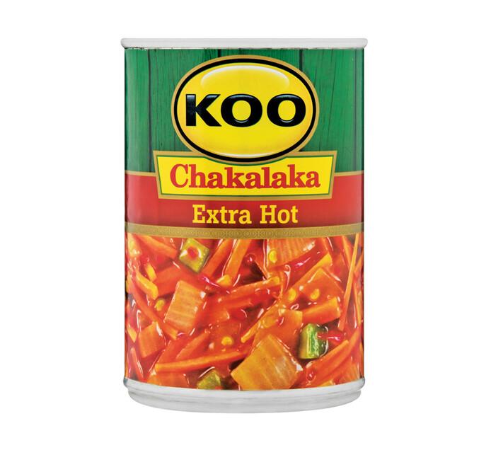 KOO Chakalaka Extra Hot (1 x 410G)