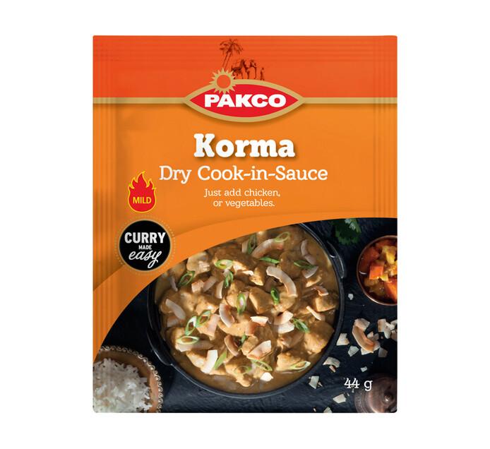 Pakco Dry Cook In Sauce Korma (1 x 44g)