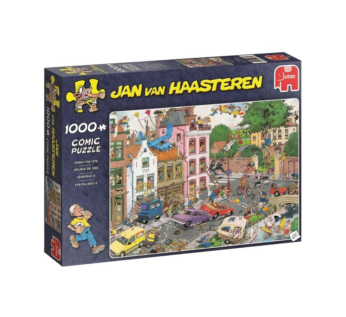 Jumbo Friday The 13Th Puzzle 1000 Piece