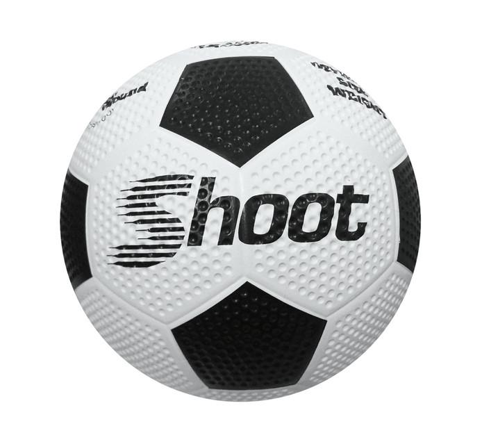 Shoot Size: 5 Rubber Soccer Ball