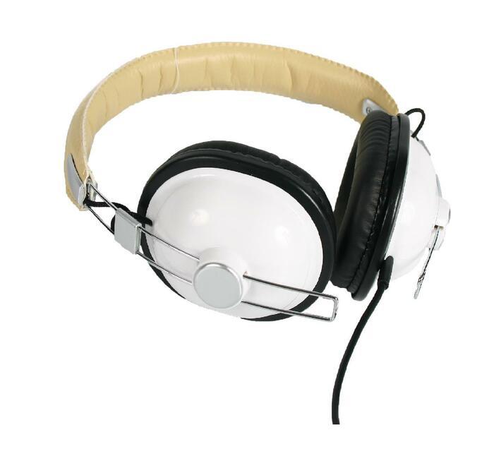 Ultra Link Retro Headphones - White