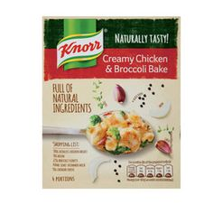 KNORR Dry Cook In Sauce Creamy Chicken & Broccoli Bake (1 x 44g)