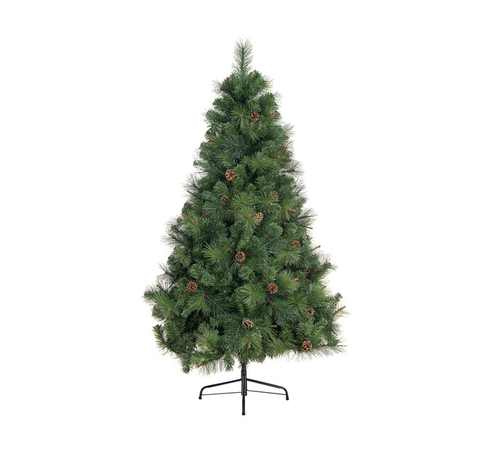 St Nicholas 180 cm Christmas Tree with Waterdrop Tips and Cones