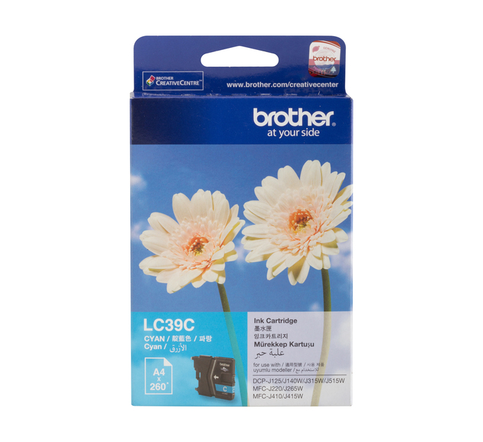 Brother 39 Cyan Ink Cartridge