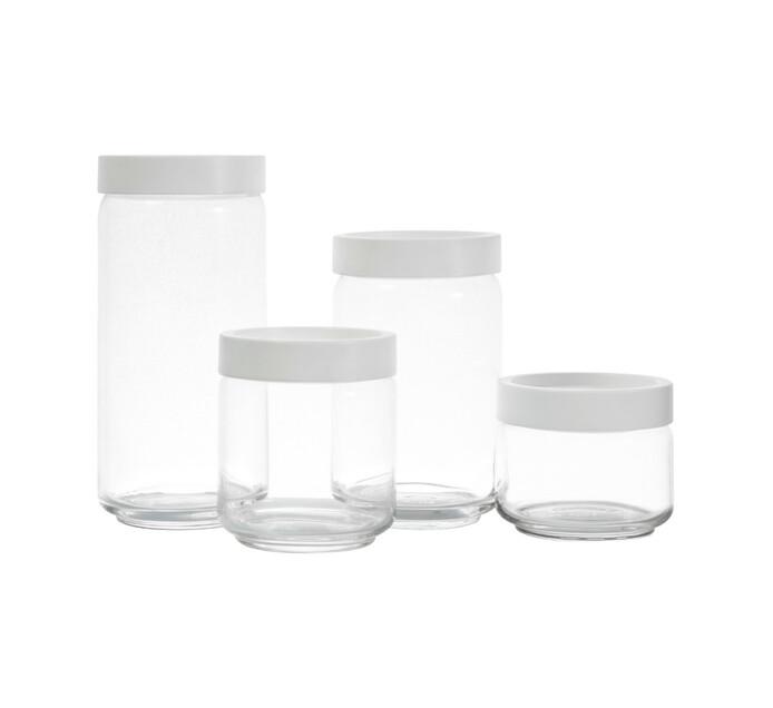Ocean 750 ml Stax Jar With Plastic Lid