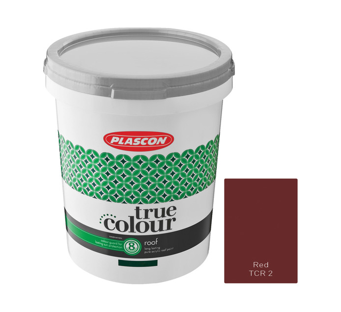 Plascon 20 l True Colour Roof Red