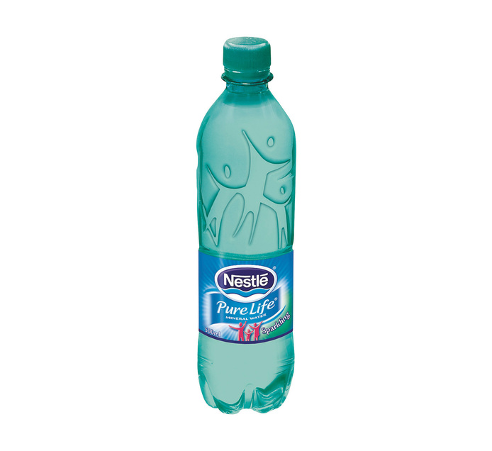 NESTLE Pure Life Mineral Water Sparkling (6 x 500ml) | Non