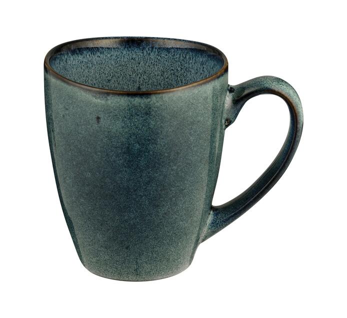 350 ml Fresh Blue Hammered Glaze Mug