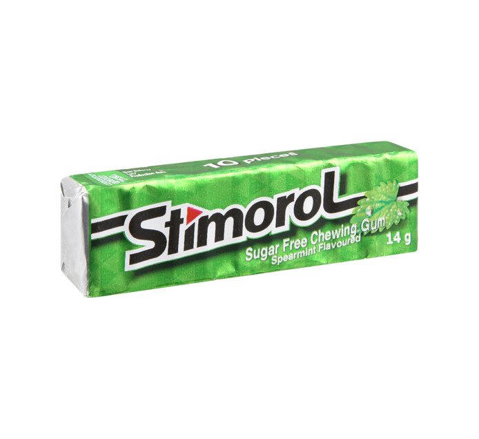 Stimorol Sugar Free Gum Spearmint (50 X 10PC)