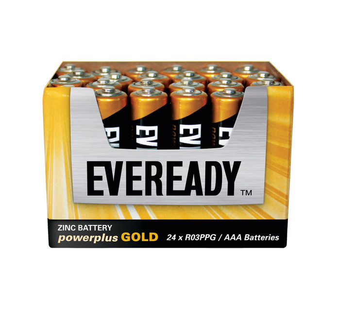 Eveready Power Plus Gold AAA Batteries 24-Pack
