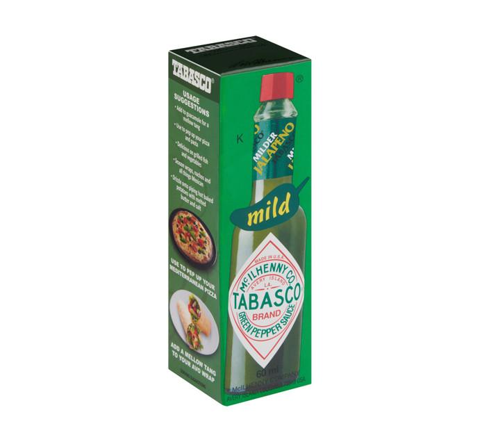 Tabasco Sauce Green Pepper (1 x 60ml)
