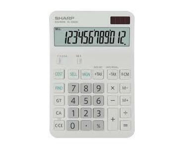 Sharp EL-338GN Desktop Calculator