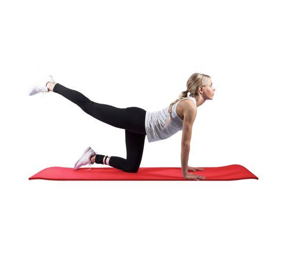 GORILLA SPORTS SA - Deluxe NBR Yoga Mat Red 190x60x1.5cm