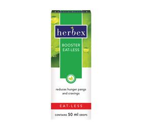 HERBEX 50ml Booster Eat-less Drops
