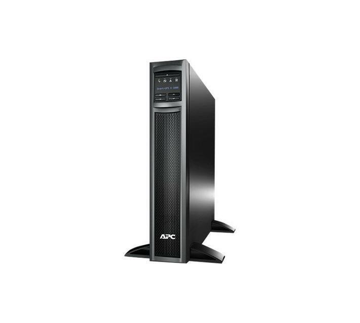 APC Smart-UPS X 1000 Rack/Tower LCD UPS 1000 VA - RS-232, USB 2U- black
