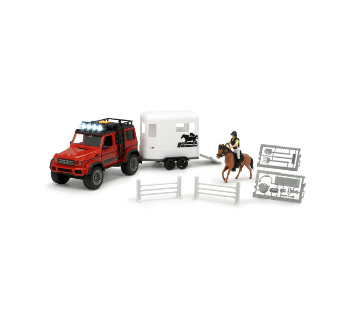 Dickie Horse and Trailer Set