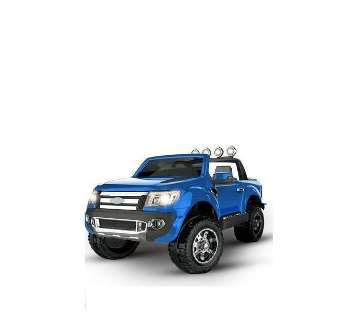 Kids Electric Ride On Car Wild Pick-Up 4X4 Blue