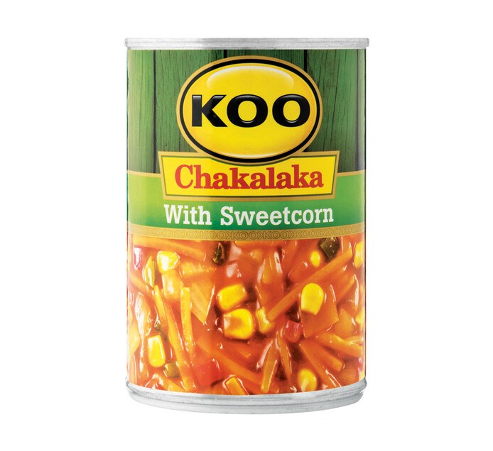 KOO Chakalaka Sweetcorn (1 x 410g)