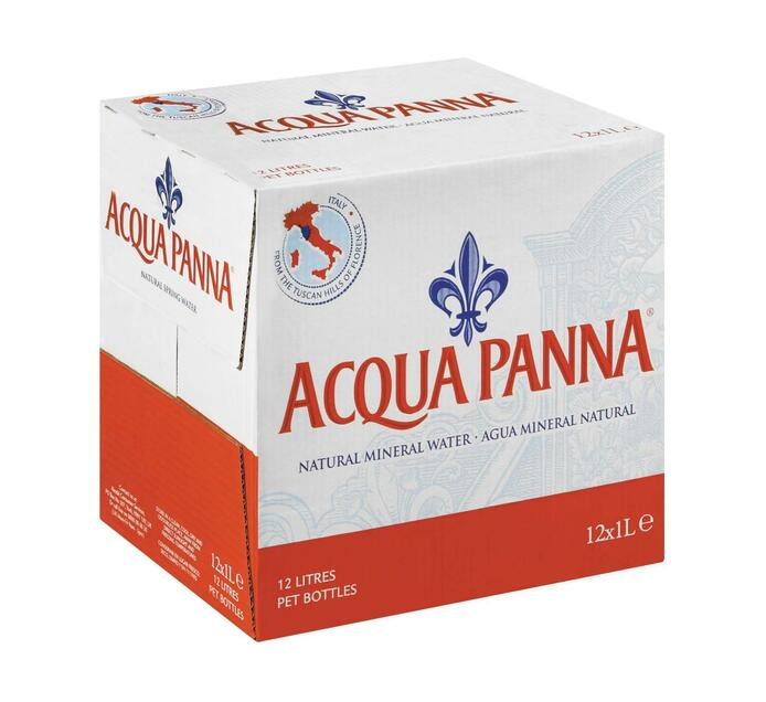 Acqua Panna Still Water (PET) (12 x 1L)