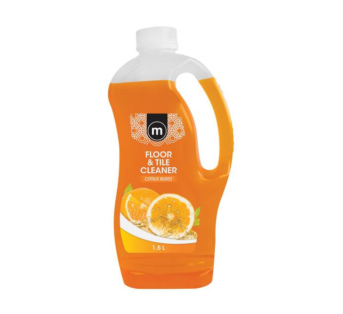 M Brand Tile & Floor Cleaner Citrus Burst (8 x 1.5l)