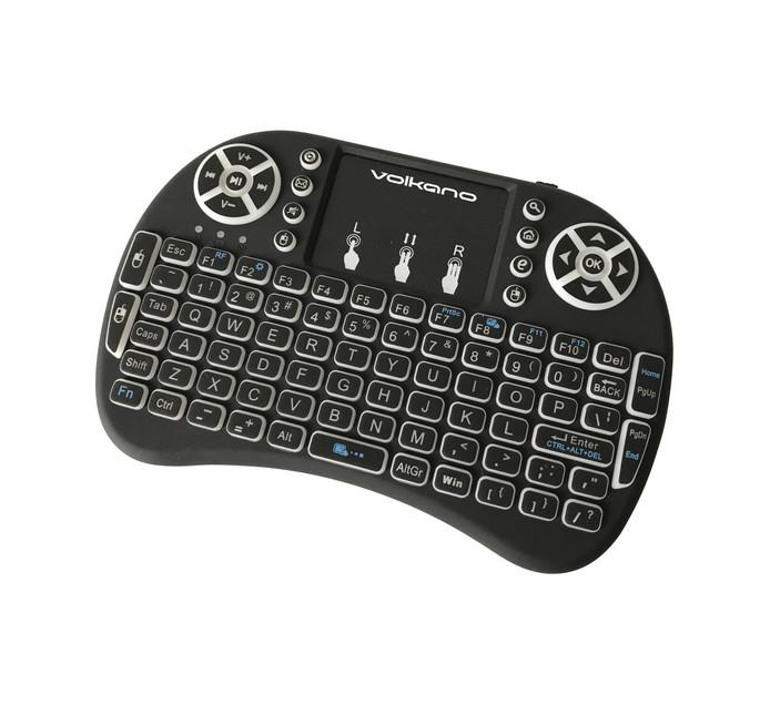 Volkano TV Remote Black Control Series