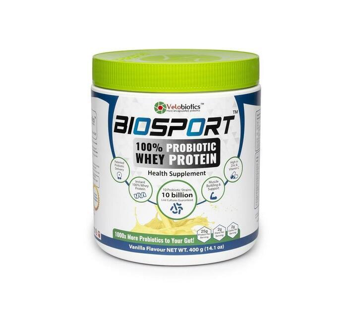BioSport – 100% Probiotic Whey Protein-Vanilla