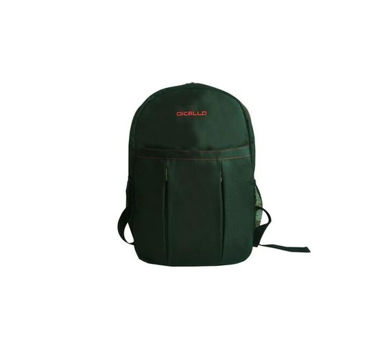 Dicallo 15.6` Laptop Backpack - Black & Red