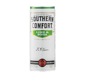 SOUTHERN COMFORT Lime & Soda Spirit Cooler Cans (24 x 250 ml)