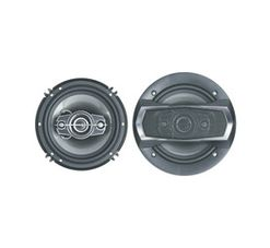 """Starsound 6"""" 3-Way 300 W Coaxial Speakers"""