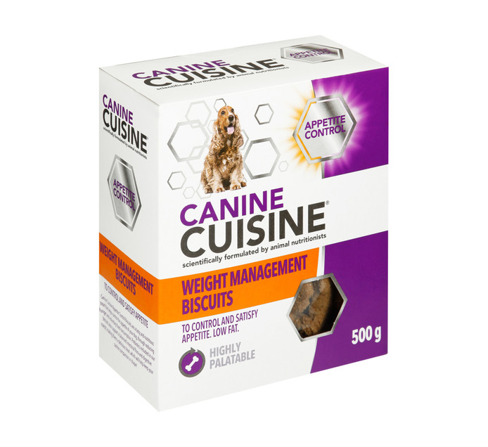 Canine Cuisine Superfood Biscuits Weight Management (1 x 500g)