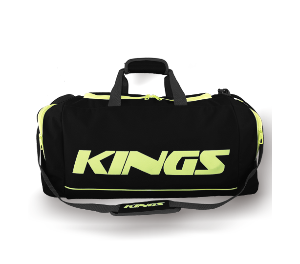 Kings Dome Shaped Carry Bag Black & Green - 2577M