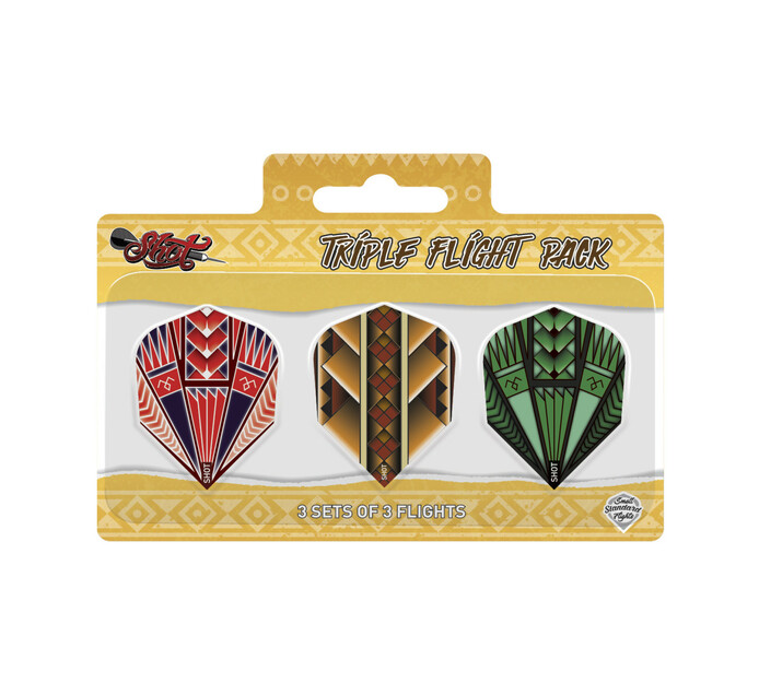 Shot 3 set Standard Flight Dart Pack