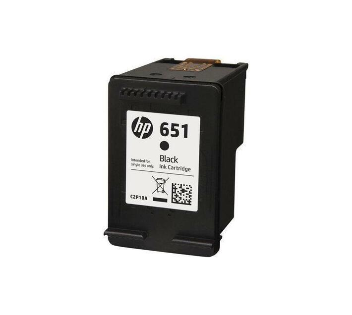 HP 651 Black original Ink Advantage ink cartridge for Deskjet Ink