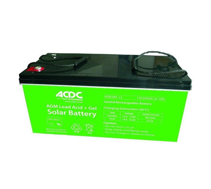 12v 100ah Agm Lead Acid + Gel Solar Battery | Inverters