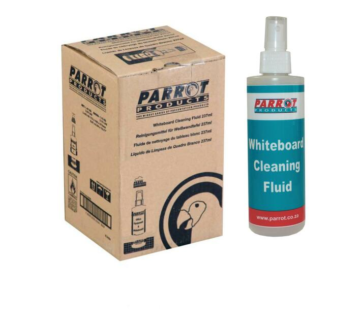 PARROT PRODUCTS Cleaning Fluid Whiteboard (237 ml Uncarded Box Of 6)