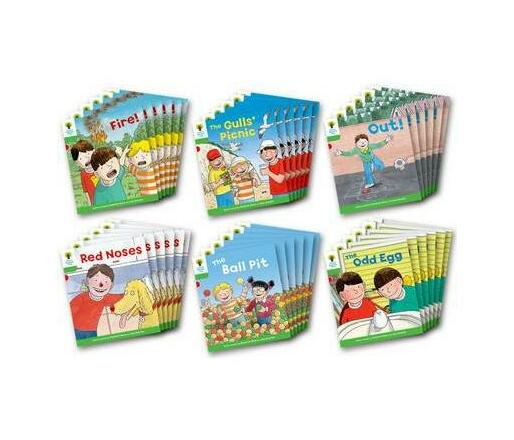 Oxford Reading Tree: Level 2: Decode and Develop: Class Pack of 36