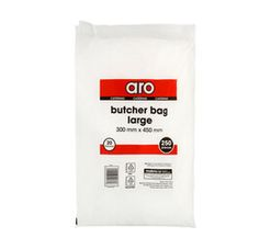ARO Butcher Bags Large 300mm x 450mm (1 X 250's)