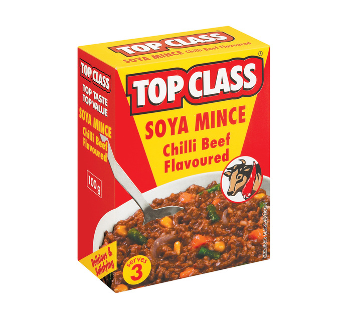 Top Class Soya Mince Chilli Beef (5 x 100g)