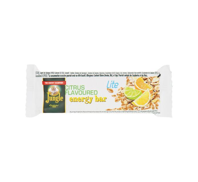 Jungle Energy Bars Lite Citrus (1  x 30's)