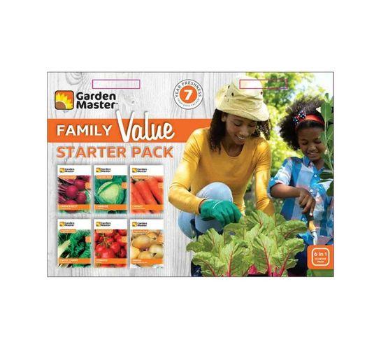 G/M FAMILY VALUE VEGETABLE STARTER PACK