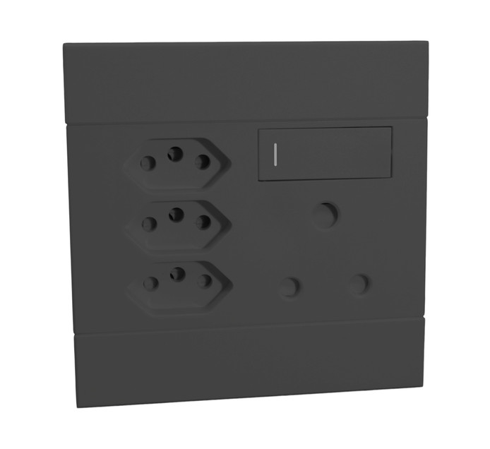 Major Tech 100 mm x 100 mm Veti 2 3 Euro Single Socket