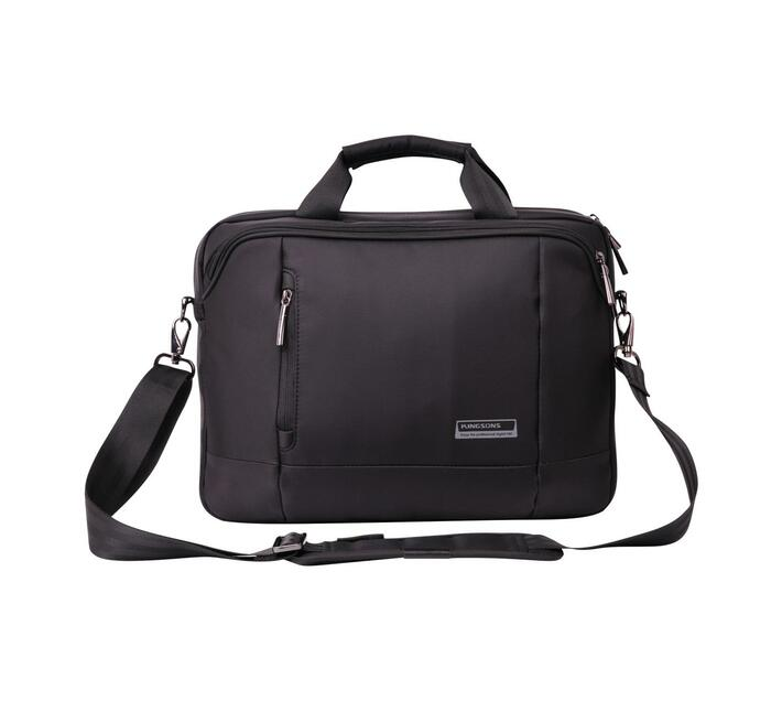 Kingsons Elite Black Series 14.1` Laptop Shoulder Bag