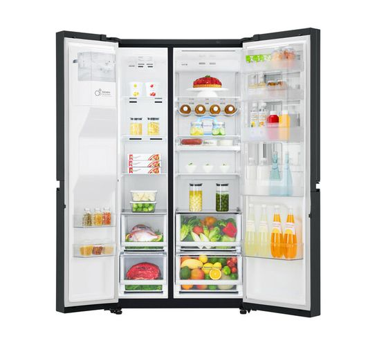 LG 601 l InstaView Frost Free Fridge with Water and Ice Dispenser