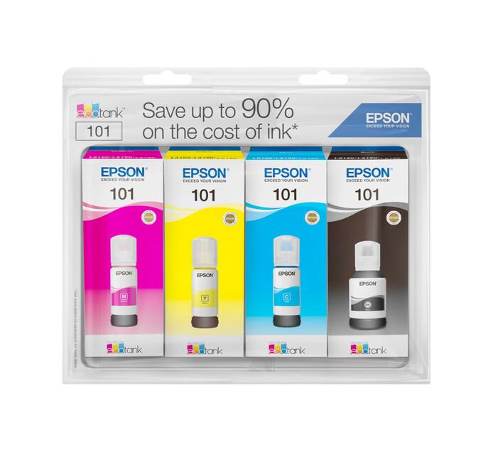 Epson 101 Ink Premium Bundle (4 Inks + Paper)